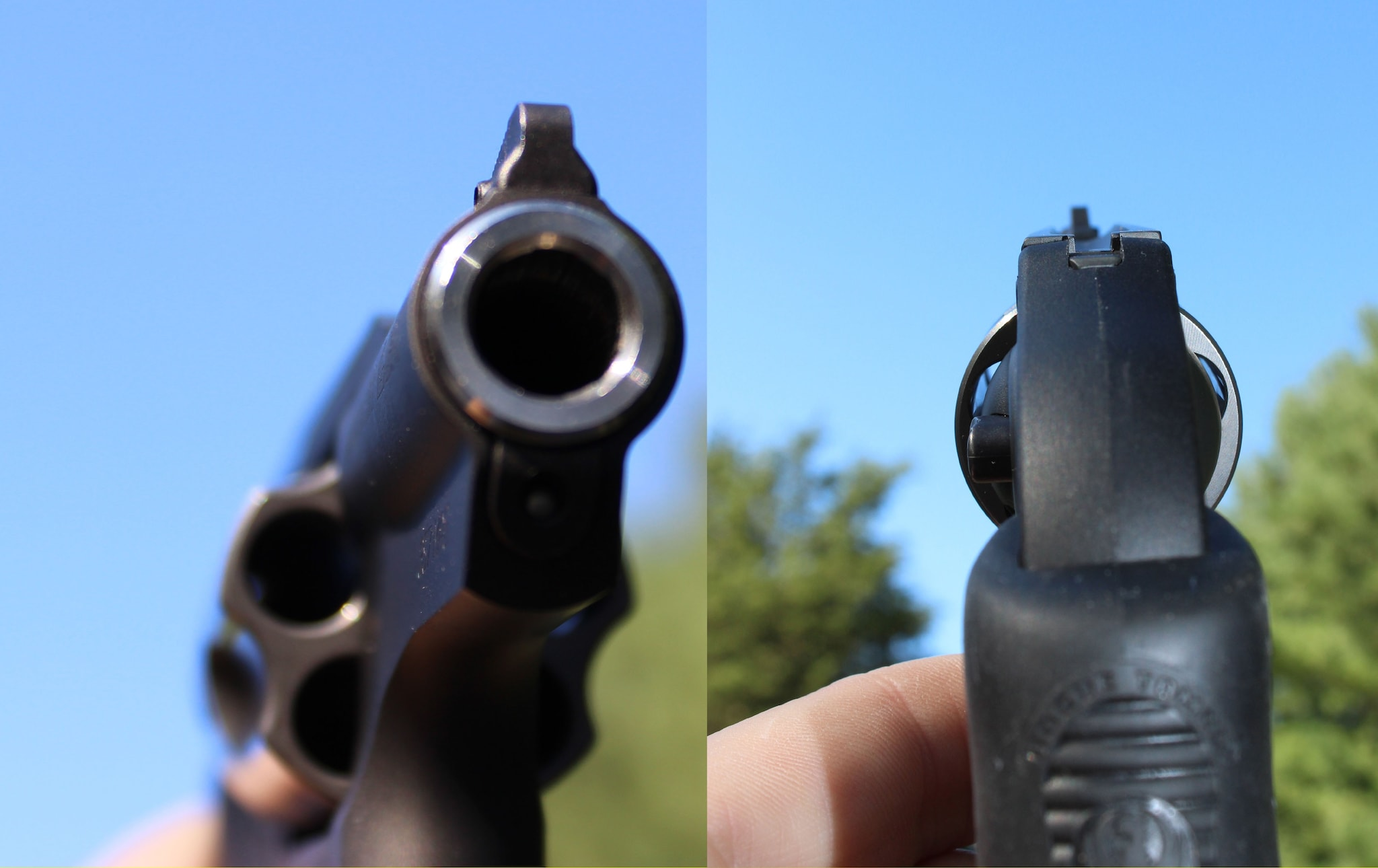 The Ruger LCR's Sights