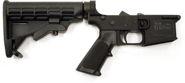 New Frontier Armory Polymer AR-15 Lower