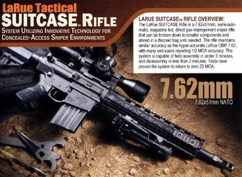LaRue Tactical SUITCASE Rifle
