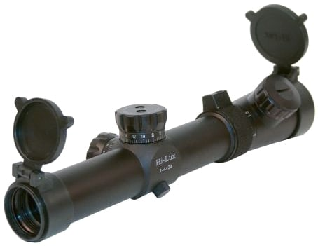Leatherwood CMR Series Hi-Lux 1-4x24 Riflescope