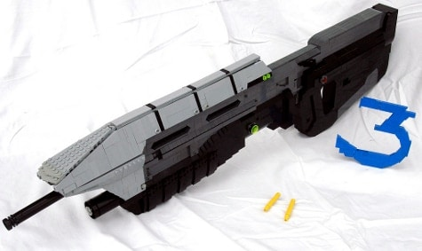 Lego assault rifle from Halo