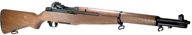 A refurbished M1 Garand