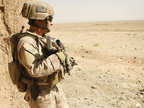A MARSOC and His M1911