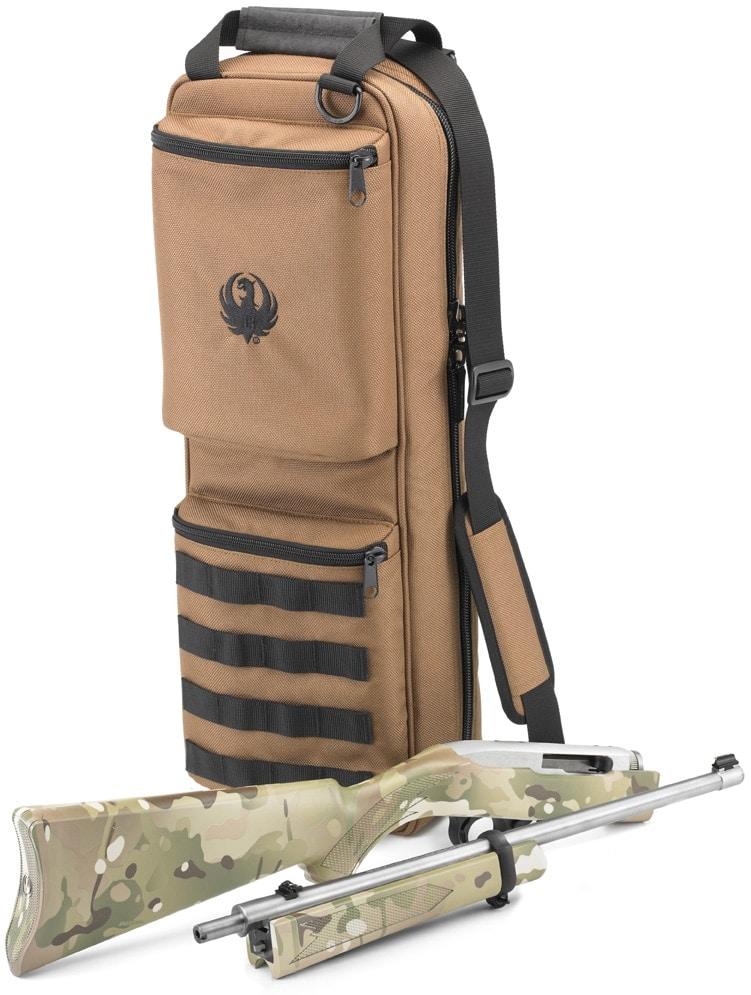 MultiCam 10/22 Takedown next to bag