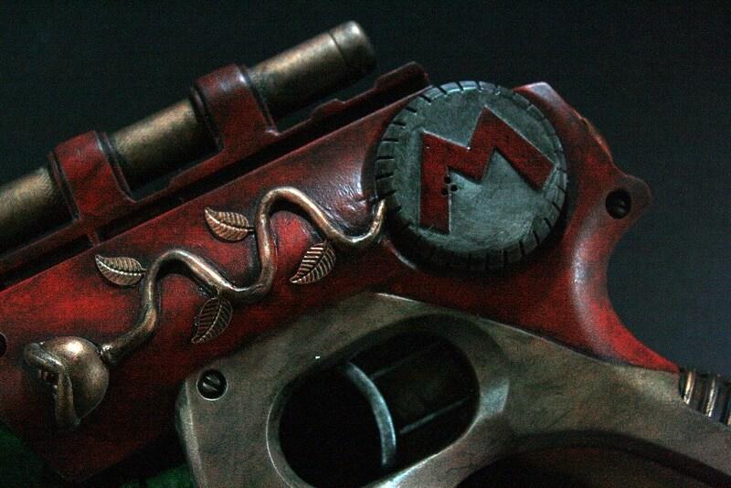 Mario Gun by Artist Donald Kennedy
