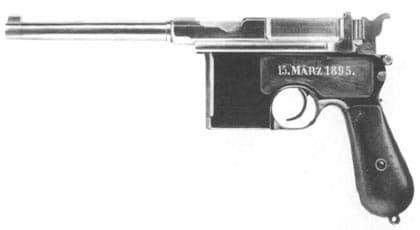 C96 Mauser Handgun Pistol