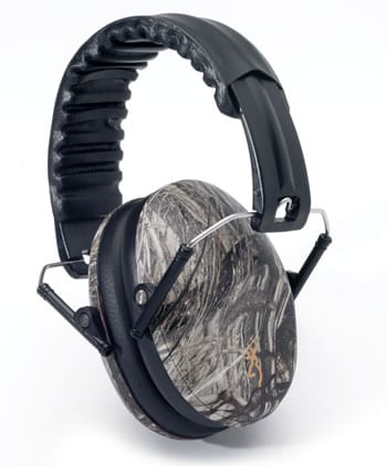 Gun ear protection headphones