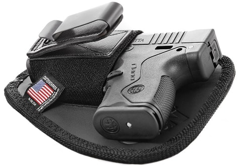 Two Nates Tactical Crimson Trace Laserguard holster for Beretta Nano