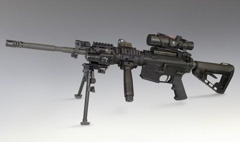 Nautilus Rail on Rifle