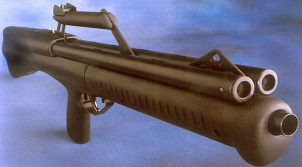 The Truvelo Neostead, a pump action shotgun