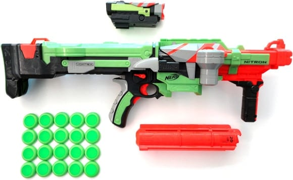 What Nerf guns look like today