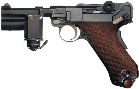 Night Pistol left side