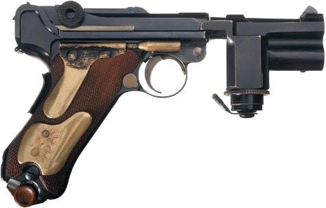 Night Pistol right side