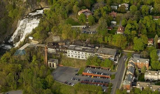The old Ithaca Factory