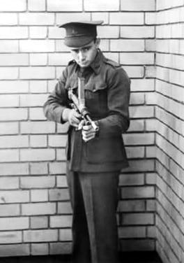 Owens sub machine gun.