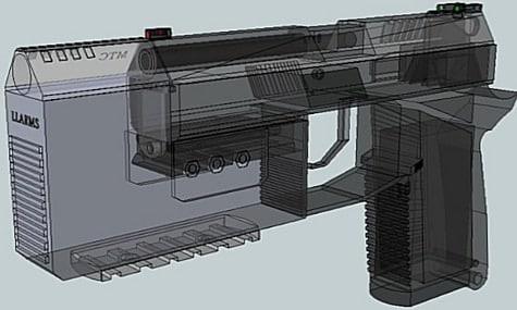 Rendering of Mini Titan Compensator