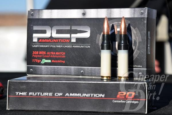 PCP Polymer-Cased Ammunition