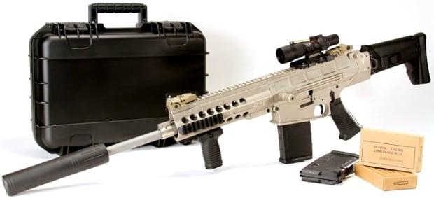 Paratus-16 assembled sniper rifle