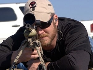 chris kyle in a sniper position