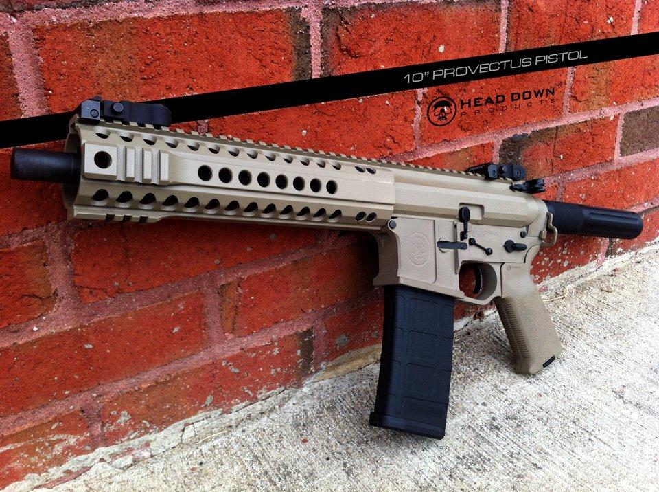 A prototype Provectus pistol