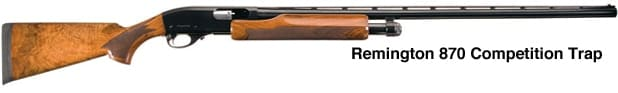 Remington 870 Competition Trap