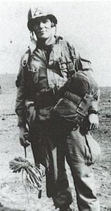 """Major Richard """"Dick"""" Winters from """"Band of Brothers""""."""