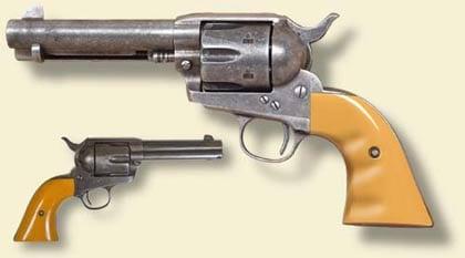 Cimarron's John Wayne Colt Single Action Army Reproductions