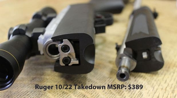 Ruger-10-22-takedown-Leupold-FX1-Rimfire