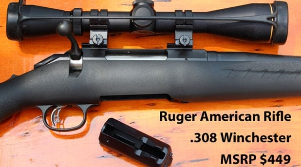 Ruger American Rifle with Leupold VX2
