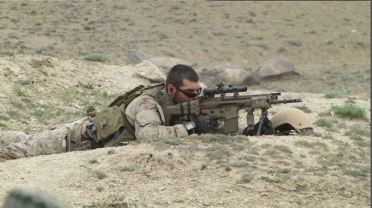 Long-range shooting with a SCAR