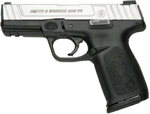 The new Smith & Wesson SD VE.