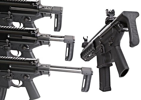 SIG SMG telecopic stock