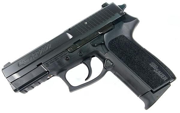 SP2022 handgun on white background