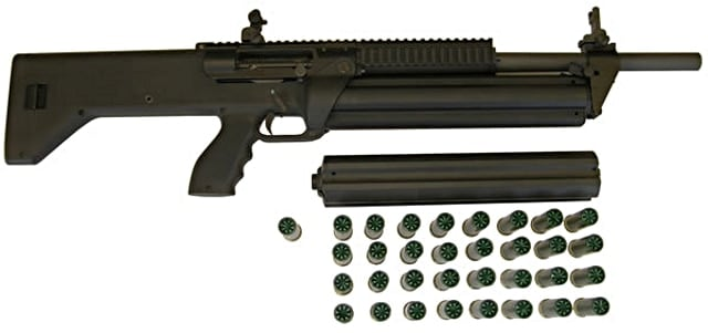 srm 1216 with magazines and rounds