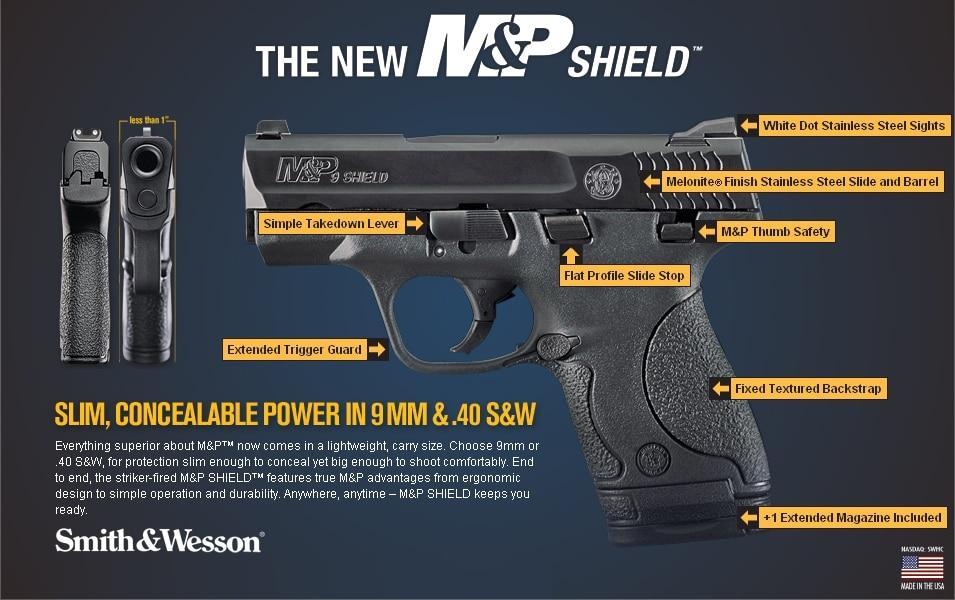 new M&P Shield advertisement