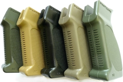 Manticore Arms Scorpion Gen 2 grips for SIG 556