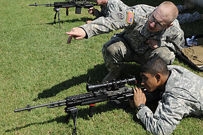 Soldiers issued enhanced M14s