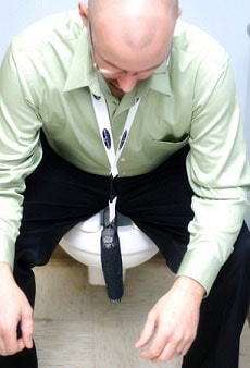 Toilet Holster