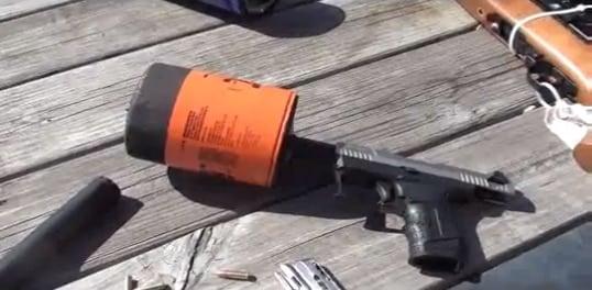 Econo-Can Gun Suppressor