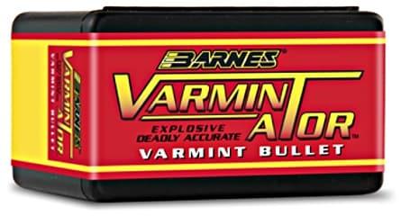 Barnes Varmint Ator Explosive Deadly Accurate Bullet Ammo Ammunition Reloader Reload