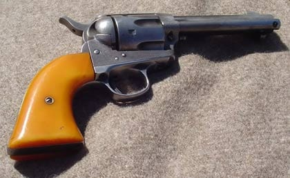Raising the Ghost of John Wayne with Cimarron's Colt Single Action