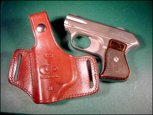 C.O.P. Derringer with holster