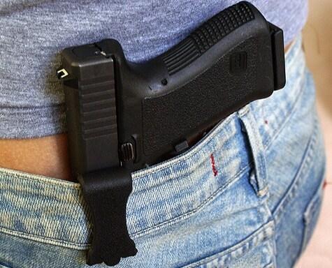 Versacarry-holstered Glock