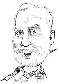 alan korwin caricature drawing