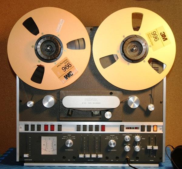tape reel recorder 3m 996