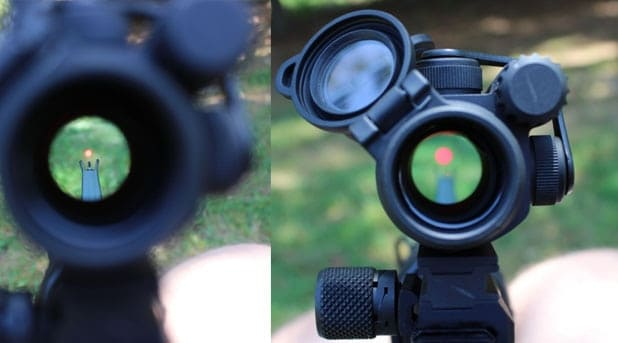 The Aimpoint P.R.O. red dot
