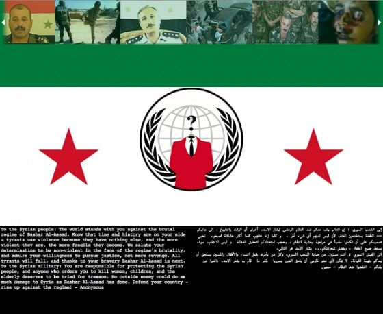 anonymous syria info