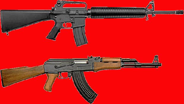 russian ak rifles