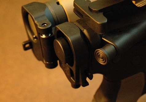 of the folding stock mechanism