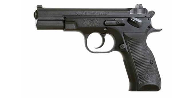 semi auto handgun